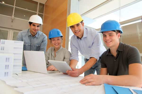 Interns get a glimpse of the work environment and company's culture.